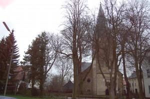 kirche im heerbst