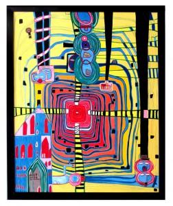Ausstellung Klemp 2Hundertwasser Inspiration