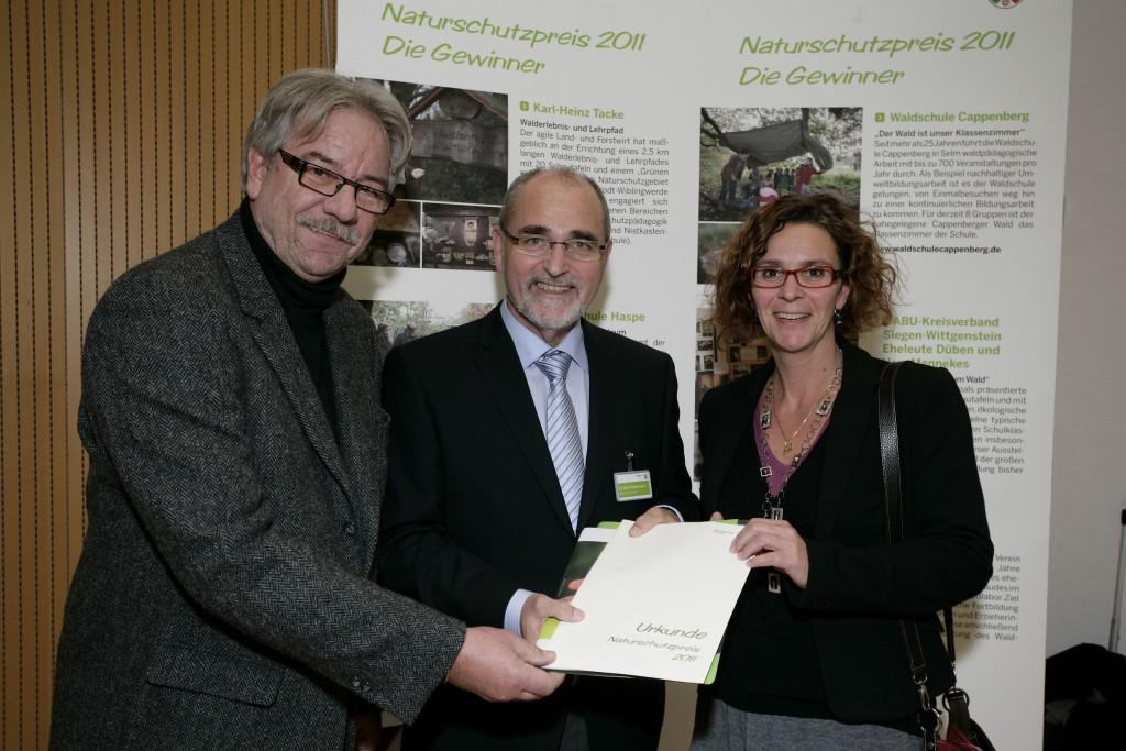 23.11.2011 Nturschutzpreis 2011 Ehrung der Preisträger
