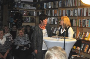 Gisela Meininghaus stellt die Berliner Verlegerin Brigitte Ebersbach vor.