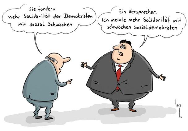 Mario Lars Cartoon SPD