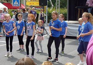 Junge Tanz-Talente vom Turnverein Eintracht Bodelschwingh.