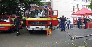 Die Freiwillige Feuerwehr Bodelschwingh war mit von der Partie.