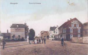 Bahnhofstr um 1918 -1