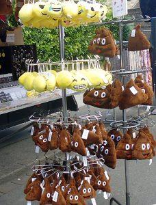 Diese Tiere grunzen nicht, aber sie gibt's trotzdem beim Schweinemarkt.