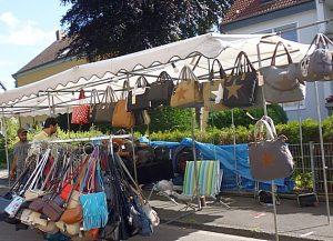 Reisetaschen nicht nur für Pilgerer, wandernde Handwerksburschen und Schlosskuriere.