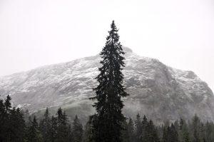 Auch im Sommer kann das Steinerne Meer mit Schnee bedeckt sein.