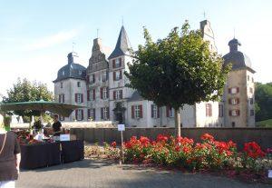 """Schauplatz von """"Gartenflair"""": Schloss Bodelschwingh."""